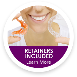retainers with orthodontics