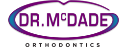 mcdade orthodontics logo footer
