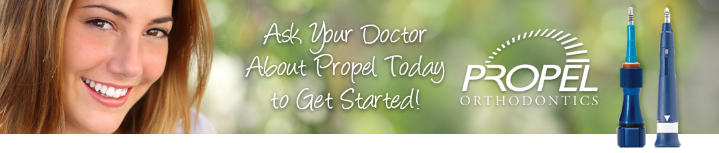 get straight teeth faster with propel